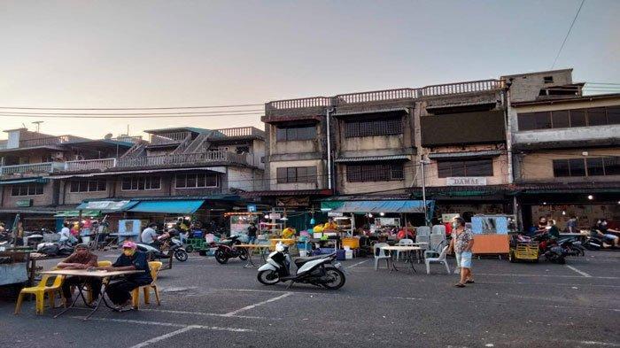 Cerita Pedagang Akau Potong Lembu Tanjungpinang saat PPKM Level 4: Pengunjung Waswas