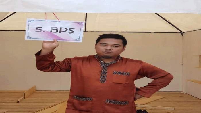 Koordinator Fungsi Integrasi Pengolahan dan Diseminasi Statistik BPS Natuna, Muhamad Andreas