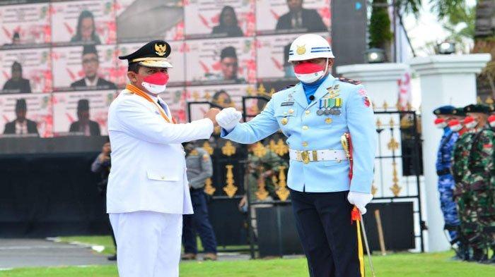 Mayor Pom Andhik Yudhi Saputro dan Gubernur Kepri Ansar Ahmad