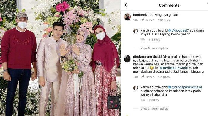 Habib Usman Disebut Salah Kostum saat Hadiri Lamaran Ricis-Teuku Ryan, Kartika Putri Beri Alasan