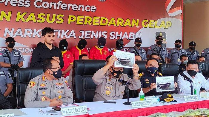BAWA 107 Kg Sabu dari Batam, Pelaku Dijanjikan Upah Rp 300 Juta, Kini Terancam Hukuman Mati