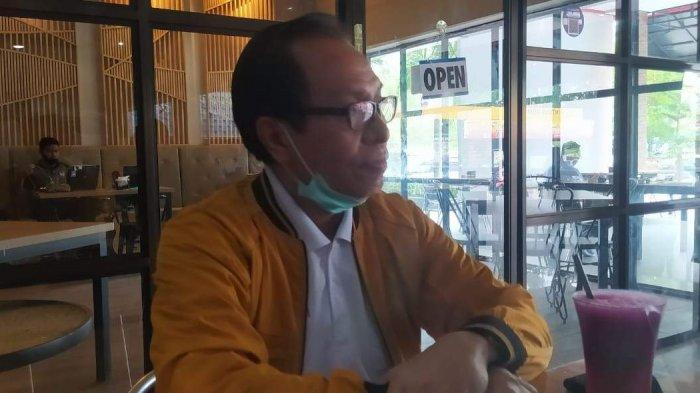 Waketum DPP Hanura Bidang Ekonomi dan SDM, Benny Pasaribu saat menjelaskan alasan mendukung Isdianto-Suryani pada Selasa (24/11/2020).