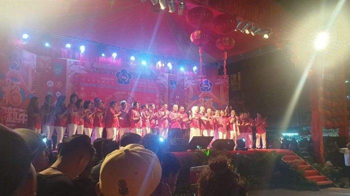 SAAT Perayaan Imlek 2020, Warga Tionghoa Batam Deklarasikan Pilkada Damai 2020