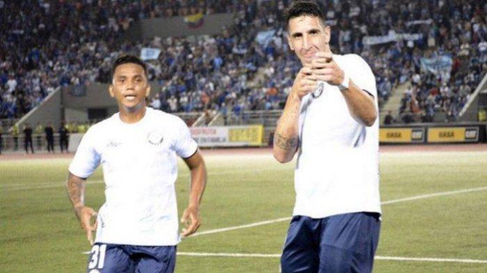 BERITA AREMA FC - Ini Keunggulan Diego Fernando Dorregaray Striker Asal Argentina Incaran Arema FC