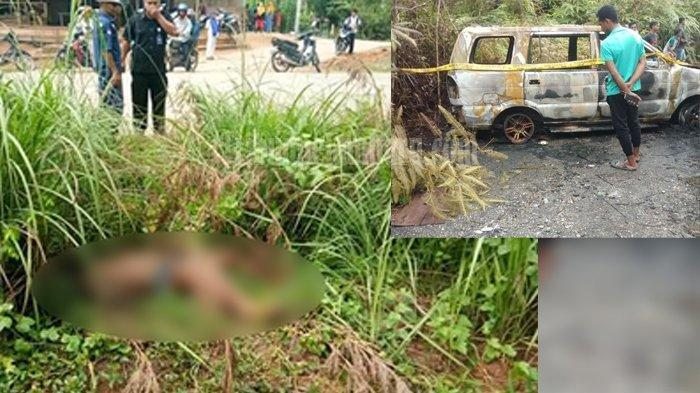 Deretan Fakta Penemuan Mayat Tanpa Busana di Tapung, Istri Laporkan Hilang dan Mobil Terbakar
