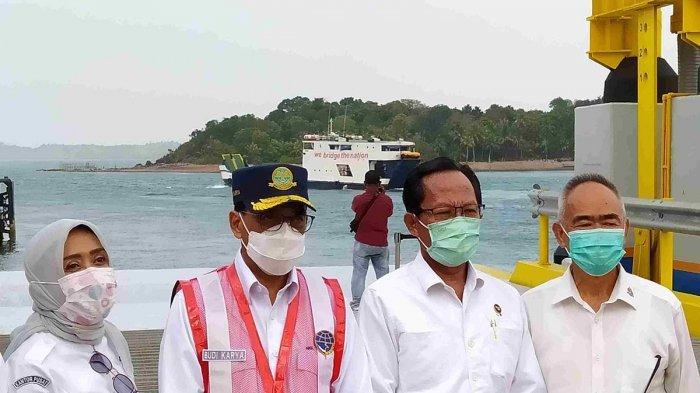 Diresmikan Menhub Budi Karya, Ini Rute Kapal di Dermaga 2 Pelabuhan Ro-Ro Punggur Batam