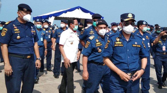 Menteri Perhubungan RI Datangi Pelabuhan Batu Ampar, Ini Sejumlah Pesan untuk KSOP