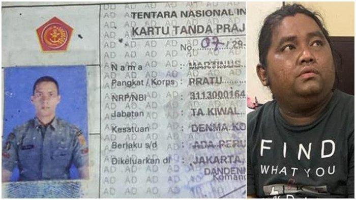 Brigadir Cornelius Siahaan (kanan) dan KTA Pratu Martinus Riski Kardo Sinurat (kiri). Kronologi polisi tembak TNI di sebuah bar di Cengkareng, Jakarta Barat.