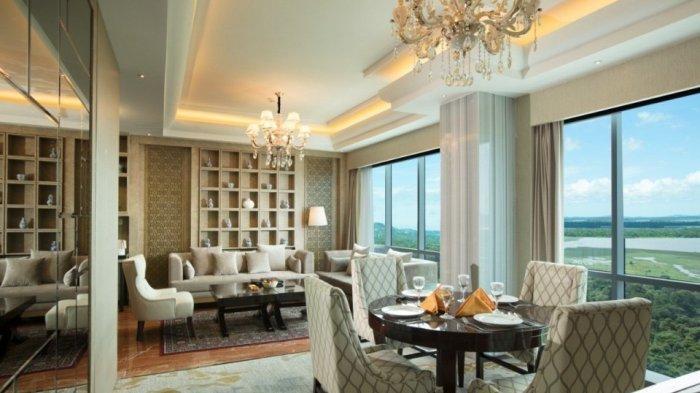 Melihat Fasilitas di Presidential Suite Room Best Western Premier Panbil Batam