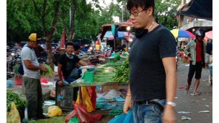 Terpukul Dampak Corona, Pedagang Sayur di Pasar Jodoh Batam Merugi: Terpaksa Kami Buang karena Layu