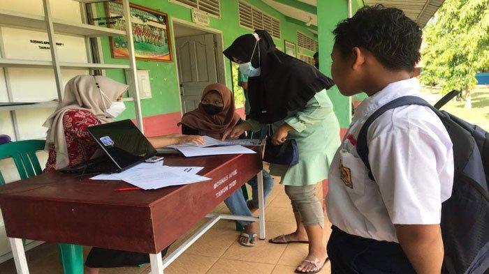 PPDB Bintan 2021, sudah 120 Calon Siswa Baru Mendaftar di SMPN 5 Bintan