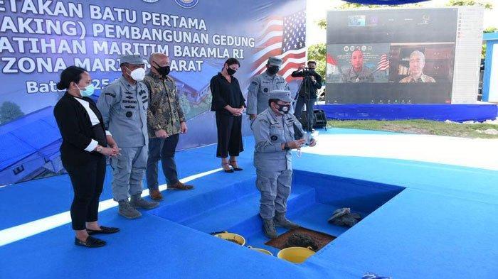 Amerika Serikat dan Indonesia Bangun Pusat Pelatihan Maritim Bakamla di Batam