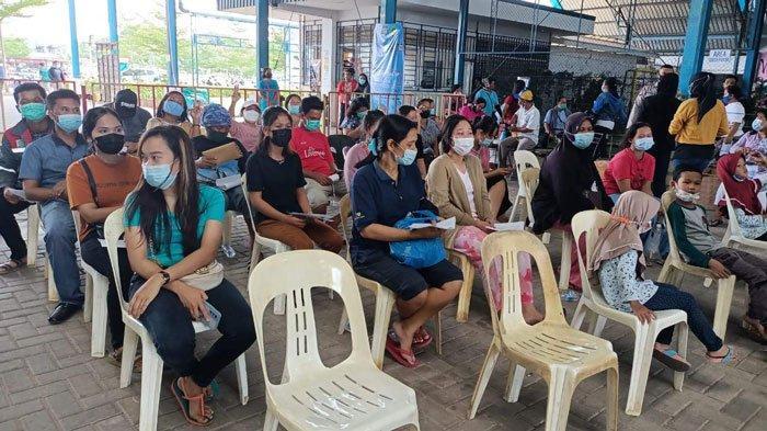 Ratusan Warga Sagulung Terpaksa Balik Kanan Gagal Divaksin