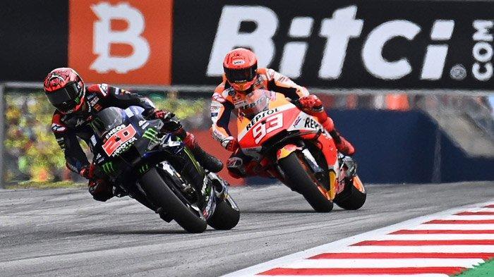 Jadwal MotoGP 2021 Inggris, Marc Marquez Tercepat di FP 1, Fabio Quartararo Urutan 3