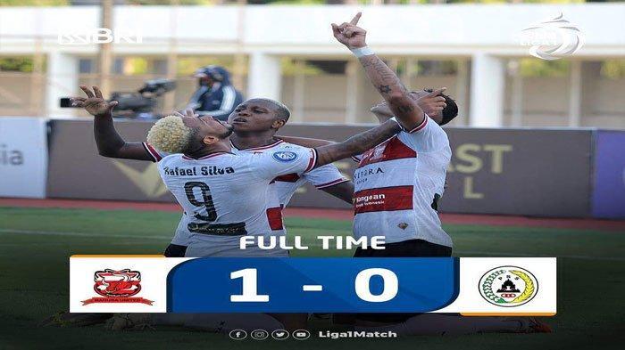 Tendangan Jaimerson Silva Bobol Gawang PSS Sleman, Madura United Naik ke Posisi 9 Klasemen Liga 1