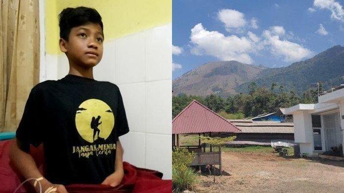 Cerita Gibran 6 Hari Hilang dan Bertahan Hidup di Gunung Guntur, Sempat Bertemu Sosok Ini