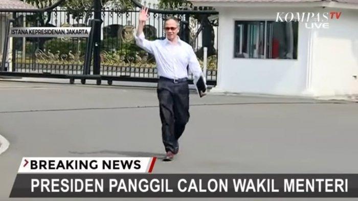 Daftar Lengkap Nama Wamen & Posisi, Wamenlu Mahendra Tampil Perdana, Angela Tanoesoedibyo Terakhir