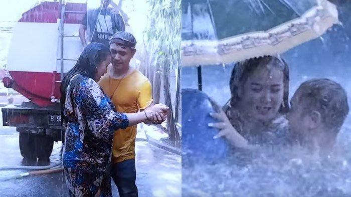 Ajun Perwira datangkan truk tangki air untuk Jennifer Jill Supit. Endingnya romantis!