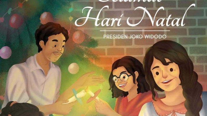 Ucapan Selamat Natal 2019 dari Jokowi, Erick Thohir, Anies Baswedan, hingga Ahok BTP