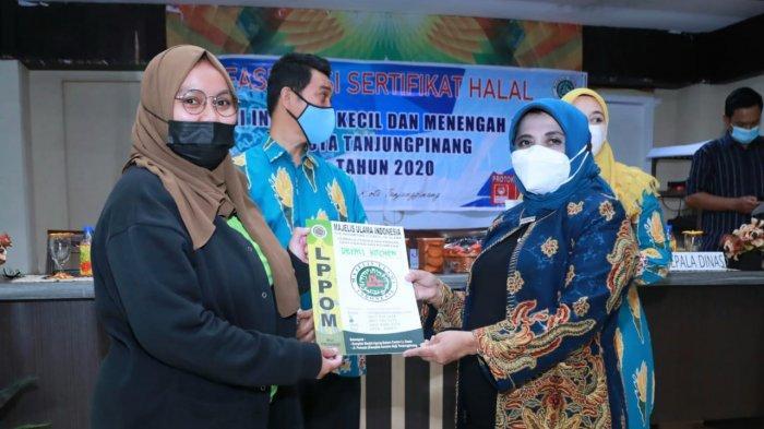 Pelatihan Sertifikasi Halal di Tanjungpinang, Wali Kota Ajak IKM Bangkit dari Pandemi