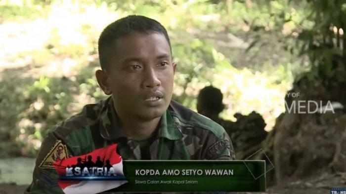 Pesan Serda Setyo Wawan Kembali Viral Setelah Gugur: Saat Kapalmu Nyelam, Berarti Kamu Udah Mati