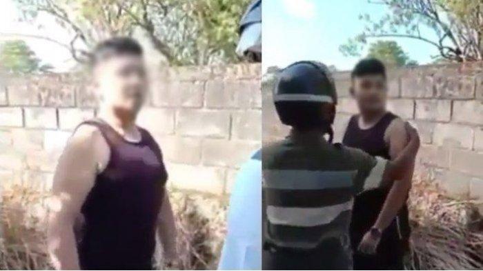 KRONOLOGI Bripka YL Dilempari Batu, Warga Marah Oknum Polisi Aniaya Pemuda hingga Pendarahan di Mata