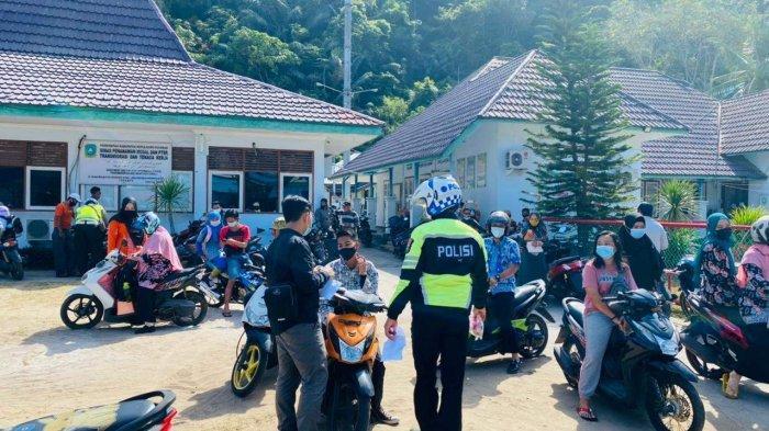SAAT Razia, Satlantas Polres Kepulauan Anambas Temukan 48 Pelanggaran
