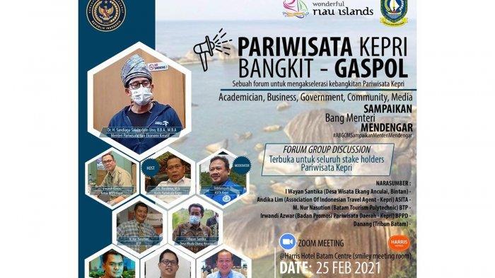 ASITA Siapkan 11 Event Wisata di Kepri, Berharap Pemerintah Terapkan Paspor Vaksinasi