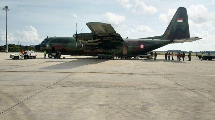 BREAKING NEWS - Satgas Terpadu Gelar Simulasi Penanganan Pasien Covid-19, Diangkut Hercules ke Batam