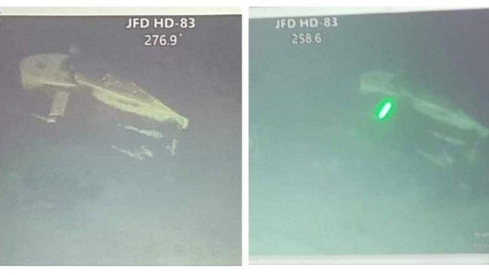 INILAH Penampakan KRI Nanggala-402 Terbelah Tiga pada Kedalaman 830 Meter dari hasil ROV, 53 Kru Kapal dinyatakan Gugur