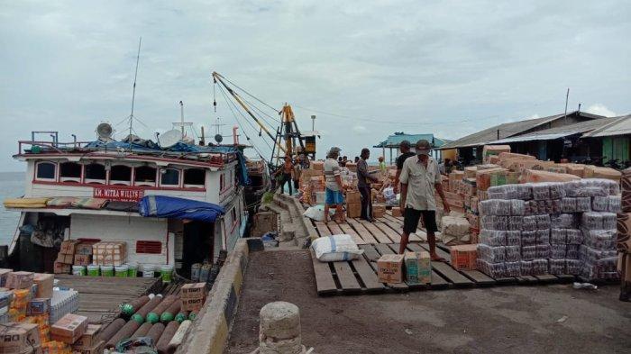 Kapal Pengangkut Sembako dari Jambi ke Dabo Singkep Kembali Beroperasi
