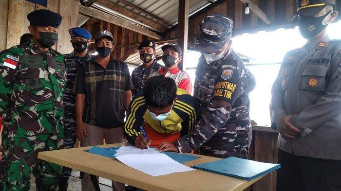 TNI AL Kembalikan Tiga Kapal Nelayan Karimun yang Hanyut saat Cuaca Ekstrem