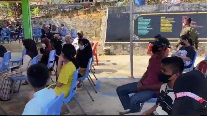 Wakil Bupati Anambas Tinjau Vaksinasi Pelajar di SMPN 1 Siantan