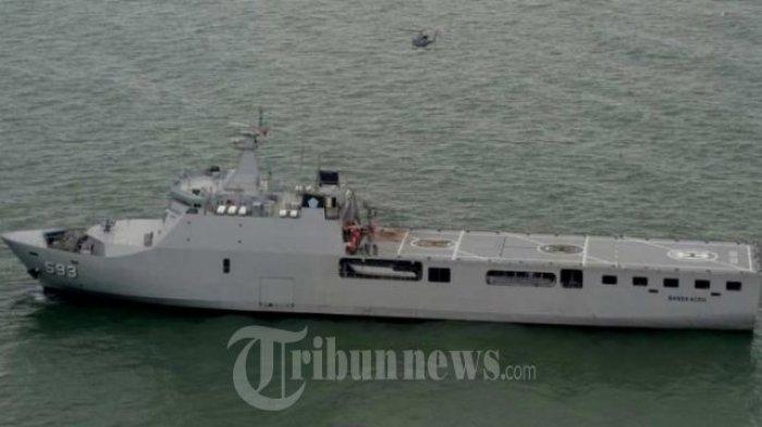 KRI Banda Aceh 593, Pengawal Samudra Indonesia Berlabuh di Bintan, Miliki Helipad Hingga RS Darurat