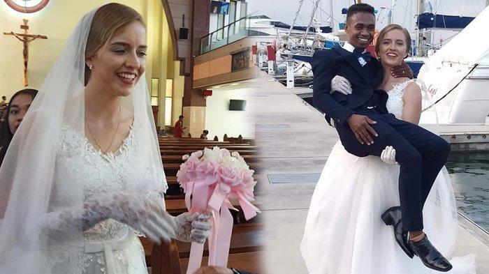 3 Kisah Pria Indonesia Nikahi Wanita Bule, Terbaru Pria NTT dengan Bule Perancis di Batam