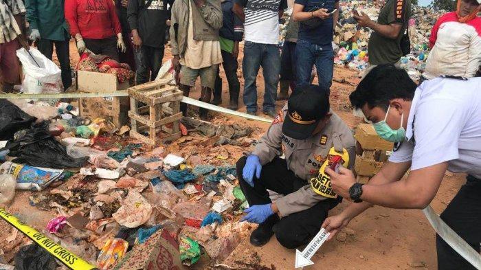 BREAKINGNEWS - Mayat Bayi Ditemukan di Tempat Pembuangan Sampah Punggur Batam