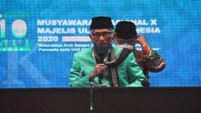 KH Miftachul Akhyar terpilih sebagai Ketua Umum MUI periode 2020-2025