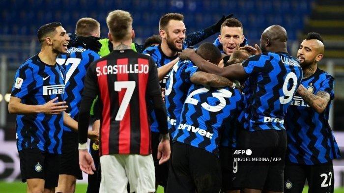 Inter Milan Perkasa, AC Milan Tersingkir dari Coppa Italia
