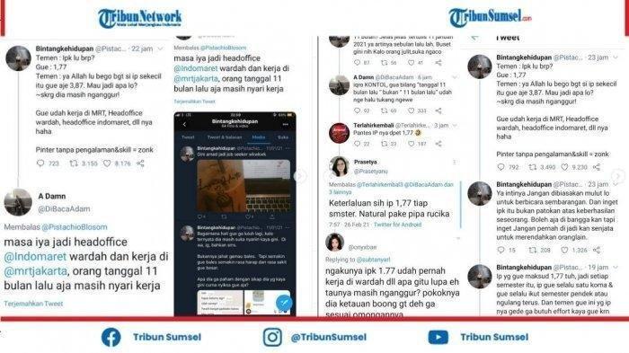 IPK 1,77 Mendadak Trending Twitter, Ini Kisah di Baliknya, Niat Sombong tapi Ketahuan Belangnya