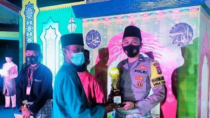 Anggota Polisi Ini Juara 1 Tilawah, STQ di Lingga Tingkat Kecamatan Katang Bidare