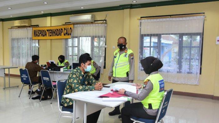 Penerimaan Anggota Polri 2021, Polres Tanjungpinang Terima 112 Berkas Calon Peserta