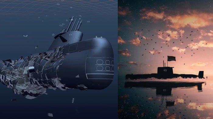 Terungkap Penyebab KRI Nanggala 402 Tenggelam, Bodi Retak Mirip Kapal Selam Ara San Juan Argentina