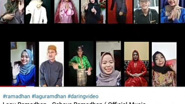 Keren, Mahasiswa di Tanjungpinang Ciptakan Lagu Cahaya Ramadhan, Libatkan 15 Penyanyi
