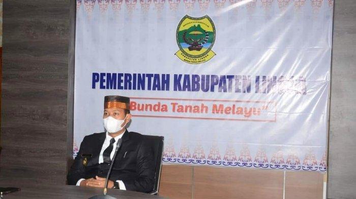 Pelantikan Bupati Karimun, Wabup Lingga Neko Wesha Pawelloy Ucapkan Selamat ke Aunur Rafiq