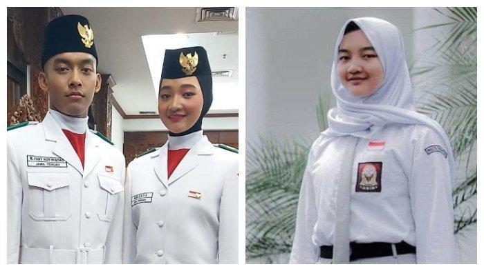 Salma Paskibraka NasionalAsal Boyolali Ini Ingin Jadi TNI AU,Banting Tulang Kerja Keras demi Impian