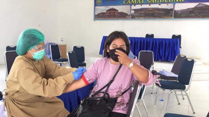 209 Petugas Sensus Batam JalaniRapid Test, Sempat Ada yang Menolak Karena Takut Jarum Suntik