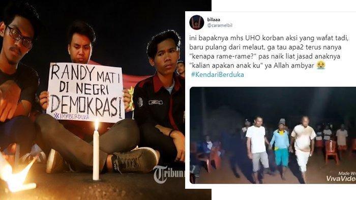 Jeritan Ayah Mahasiswa UHO yang Tewas Tertembak saat Demo, Baru Pulang Melaut: Kalian Apakan Anakku?