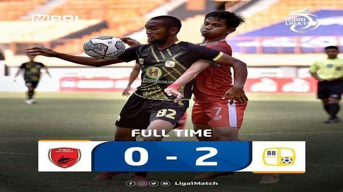 PSM Makassar Gagal Kudeta Bali United di Klasemen Liga 1, Kalah dari Barito Putera Untungkan Persib