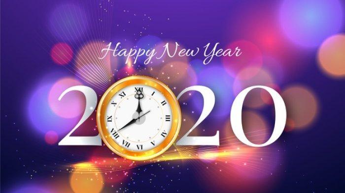 55 Ucapan & Kata Mutiara Selamat Tahun Baru 2020 dalam Bahasa Inggris dan Indonesia, Share di Sosmed