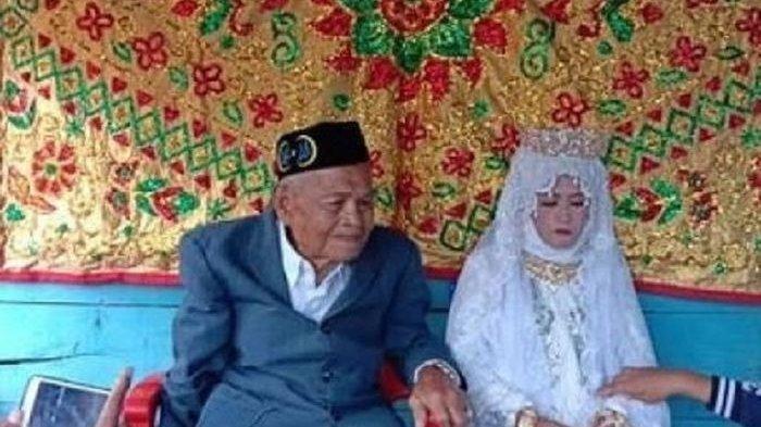 Ilustrasi pernikahan viral antara kakek usia 103 tahun dan gadis 27 tahun